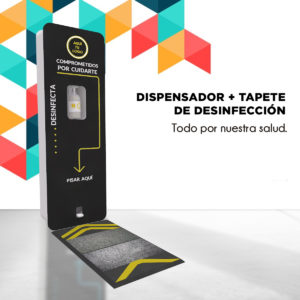 2. Dispensador pedal